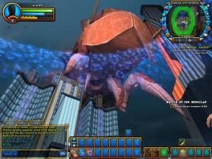 Alien mother ship